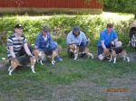Beagle-gruppe fra kennel Aha
